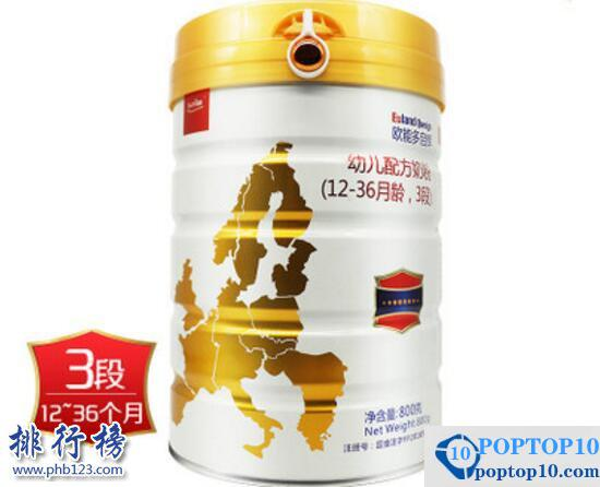 Recommended milk formula with good reputation: Tmall milk powder ranking top 10