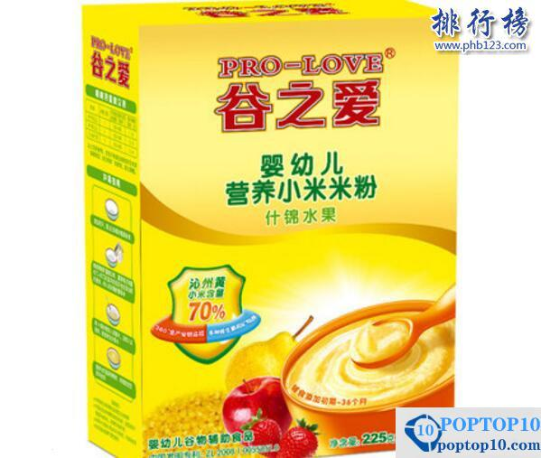 What are the best rice cereals?  Top 10 recommended in the world rice cereal ranking