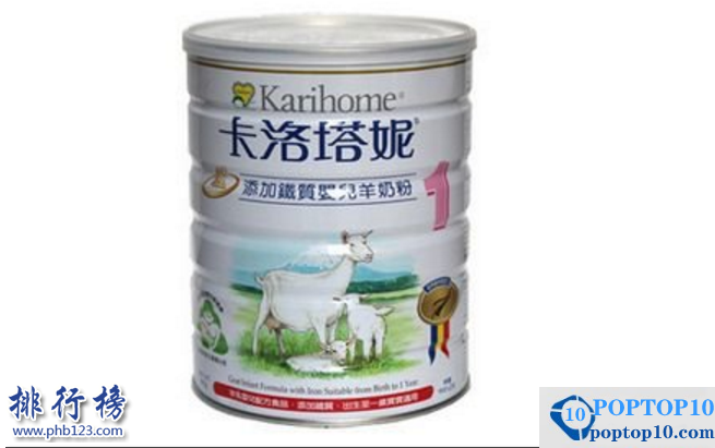 Imported goat milk powder ranking list: take stock of the world 's better goat milk powder brands